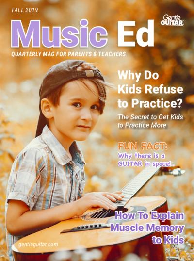 Music Ed Magazine is perfect for music teachers and parents of musically active kids! #musiced #musicteacher #musicinourhomeschool #gentleguitar