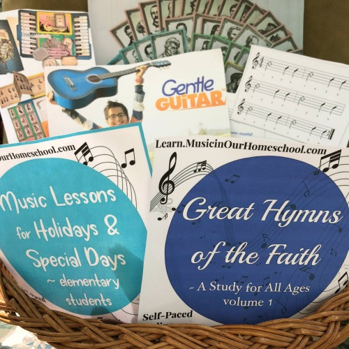 Elementary Music Basket giveaway from Music in Our Homeschool