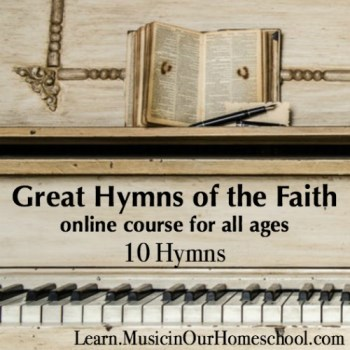 Great Hymns of the Faith online course square
