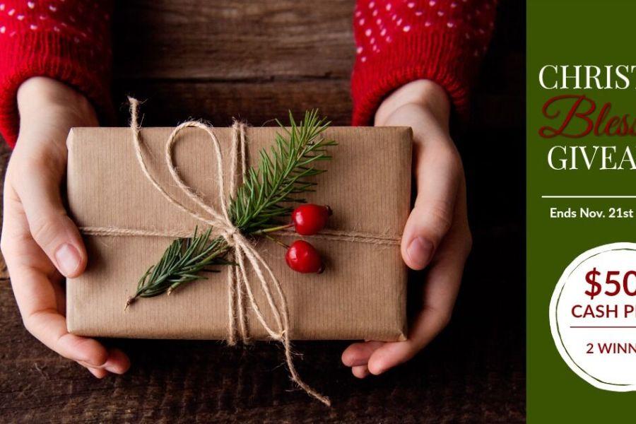 Christmas Blessings Giveaway. Enter to win $500! #musicinourhomeschool #giveaway #cashgiveaway