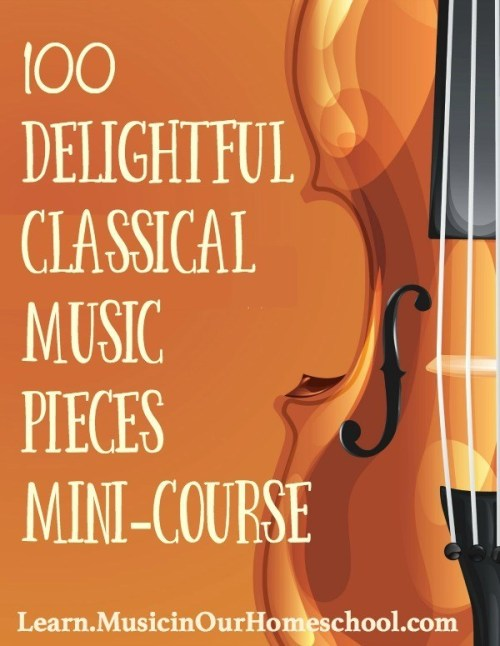 100 Delightful Classical Music Pieces Mini-Course self-paced online course for music appreciation