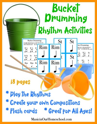 Bucket Drumming Rhythm Activities is the perfect fun and active activity for your students! Learn to read rhythms and create your own compositions.