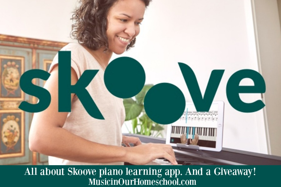 All about Skoove Piano Learning app and a Giveaway!