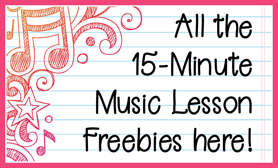 All the 15-Minute Music Lesson Freebies in One Place . From Music in Our Homeschool