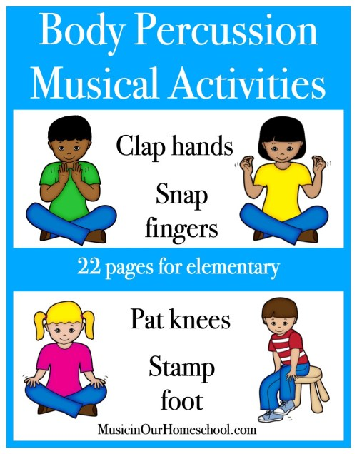 Elementary Music Fun Bundle of Activities: Body Percussion
