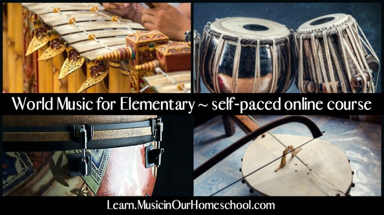 World Music for Elementary online course