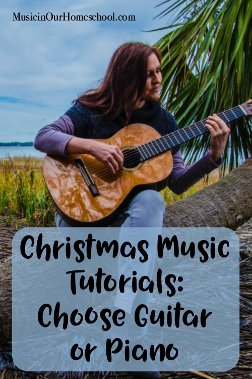 Christmas Music Tutorials Choose Guitar or Piano