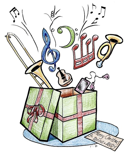 Christmas Gift - Gift of Music by Donna and Andy