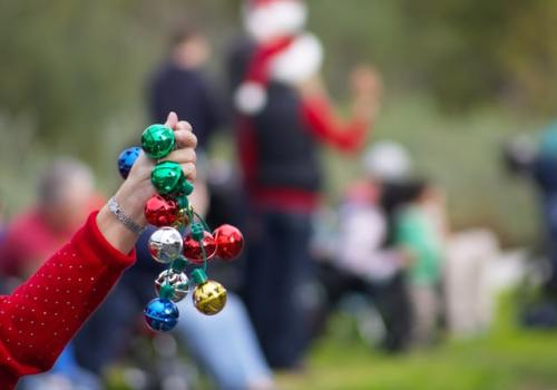 Make your own Handmade jingle bell instrument from Music in Our Homeschool!