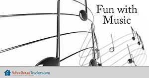 Fun with Music from Schoolhouse Teachers