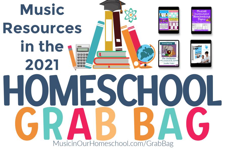 Homeschool Grab Bag Music Resources