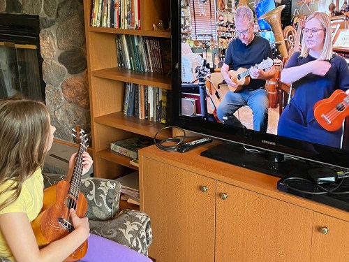 Ukulele Adventures ukulele lessons for kids from Musik at Home