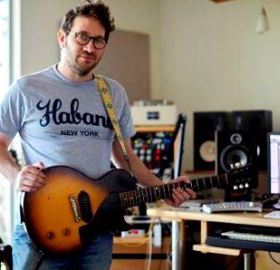 jared with guitar studio 300sq