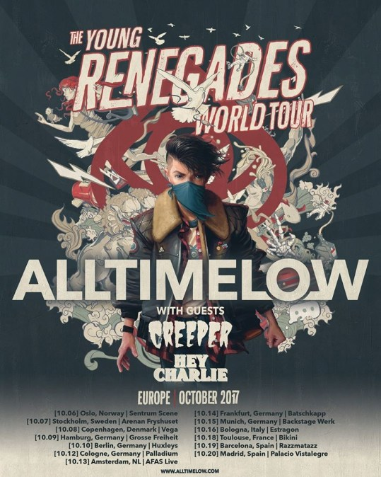 All Time Low England Tour Dates