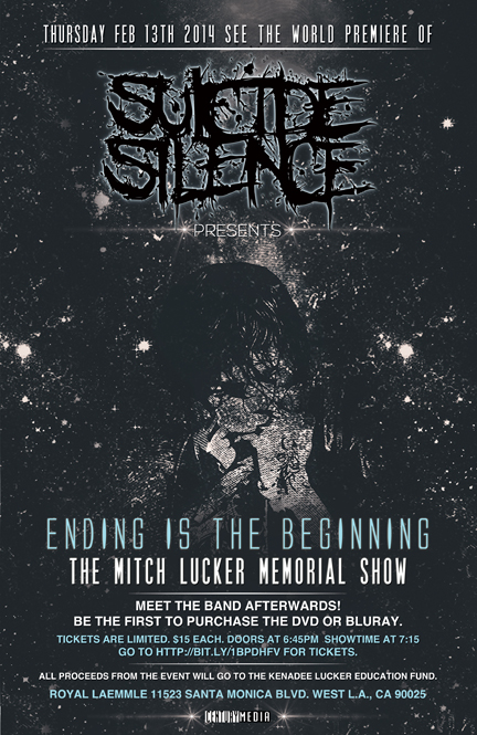 Suicide Silence Release Video For OCD With Austin