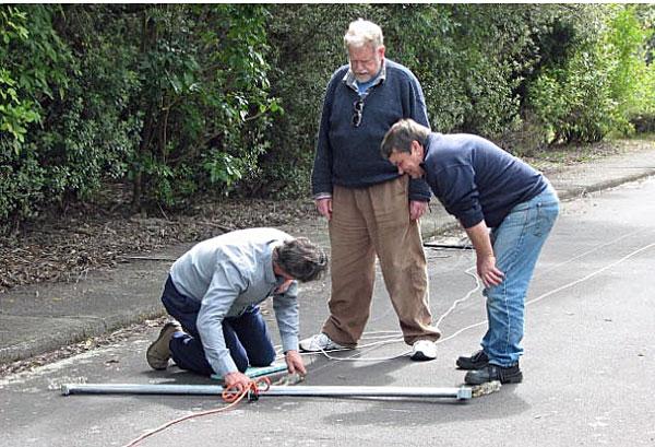 Measuring the 500 kHz antenna