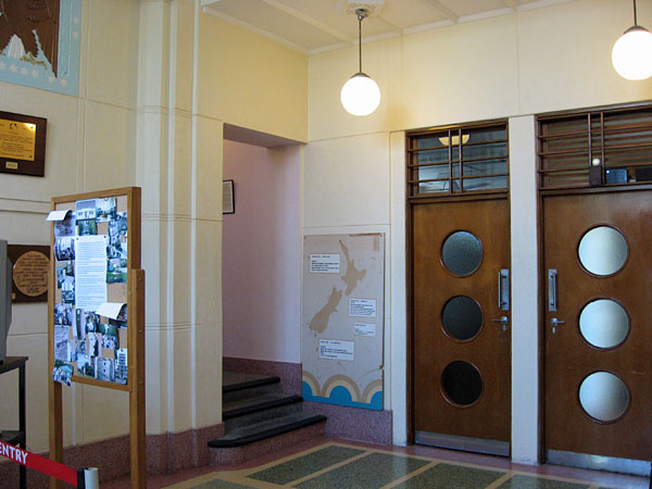 The Memorial Hall at Musick Memorial Radio Station, Auckland