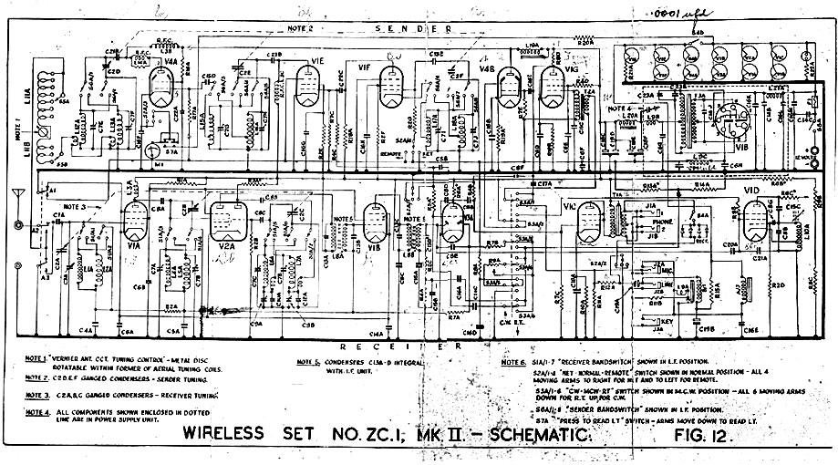 zc1 mk ii radio transceiver schematic musick point radio. Black Bedroom Furniture Sets. Home Design Ideas