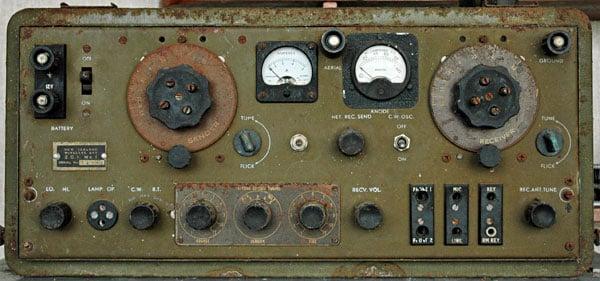 ZC1 Mk I military radio transceiver