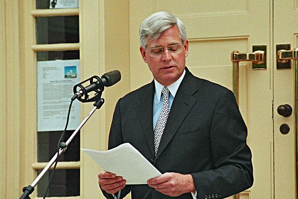 Ambassador Charles J Swindells