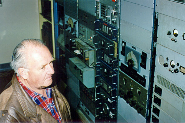 Eddie Duffy, a former technician at Auckland Radio ZLD