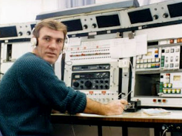 Auckland Radio ZLD operator Ray Hardy