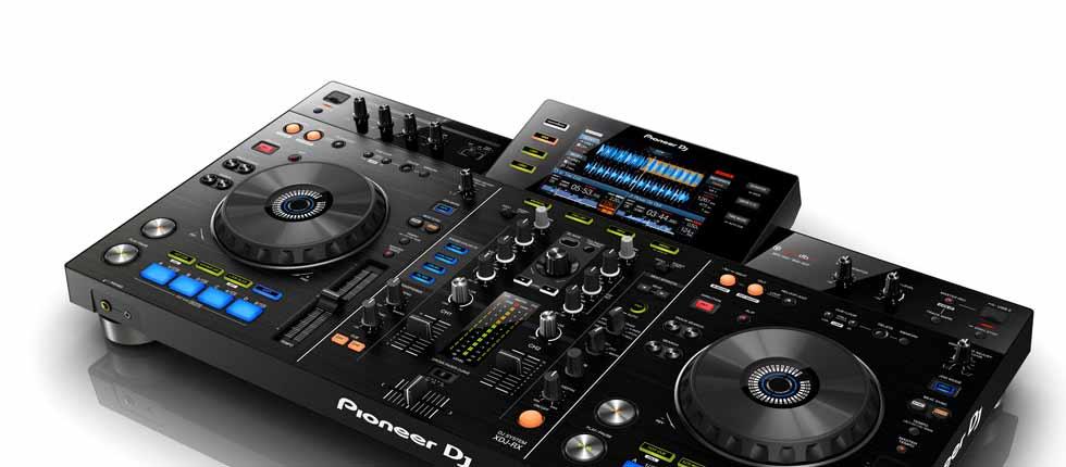 xdj-rx Pioneer DJ-set