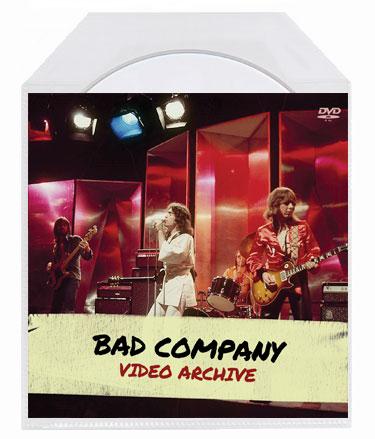 Bad Company - Video Archive