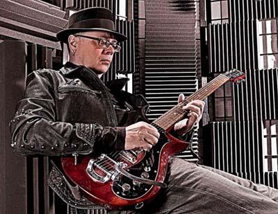 Steve Hunter guitar