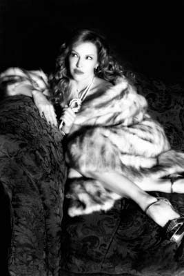 Gretchen Bonaduce fur coat