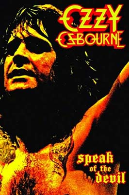 ozzy osbourne speak of the devil dvd 1982 review. Black Bedroom Furniture Sets. Home Design Ideas