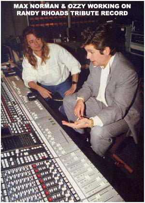 Max Norman Interview – Producer on Ozzy Osbourne Albums