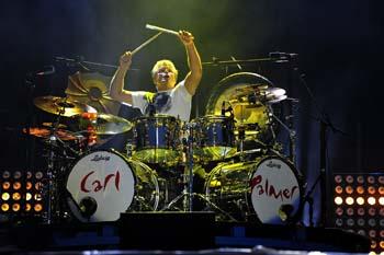 Carl Palmer drummer