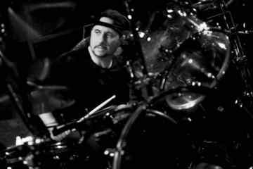 Dave Lombardo ex slayer drummer