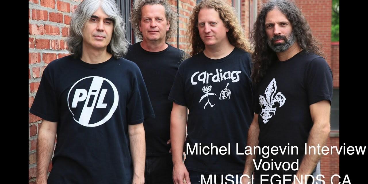 Michel Langevin Interview 2018 – VOIVOD