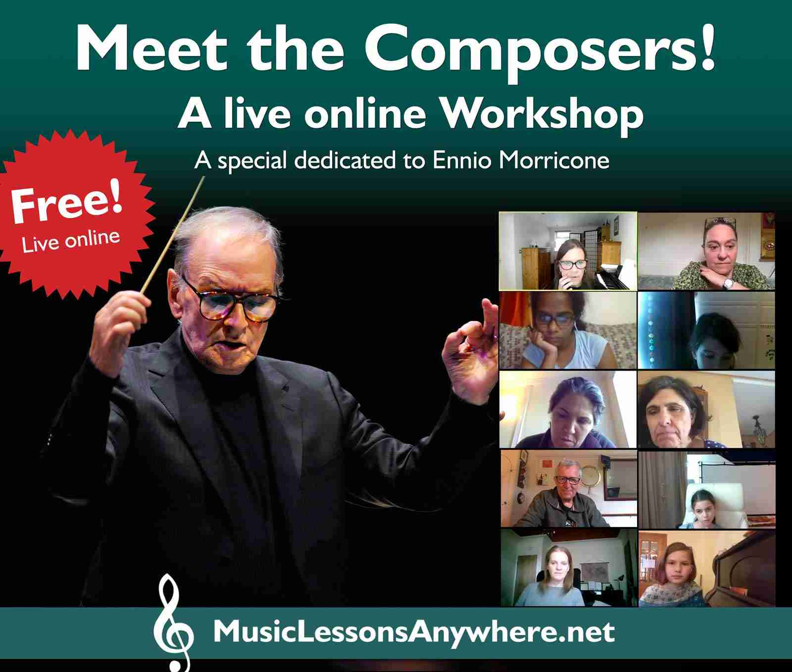 Free Online Music Events For Online Music Students