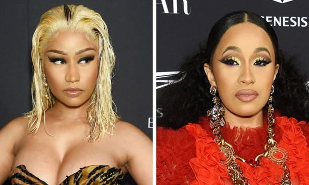 Nicki Minaj and Cardi B