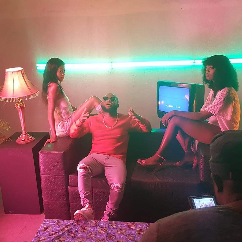 Photos from 'Thank You' video shoot