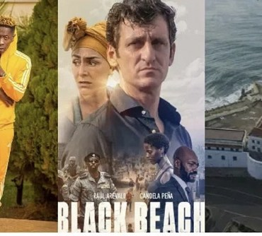 Shatta Wale's songs, Cape Coast Castle,  others feature in Black Beach movie on Netflix