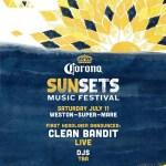 Clean Bandit announced to headline Corona SunSets