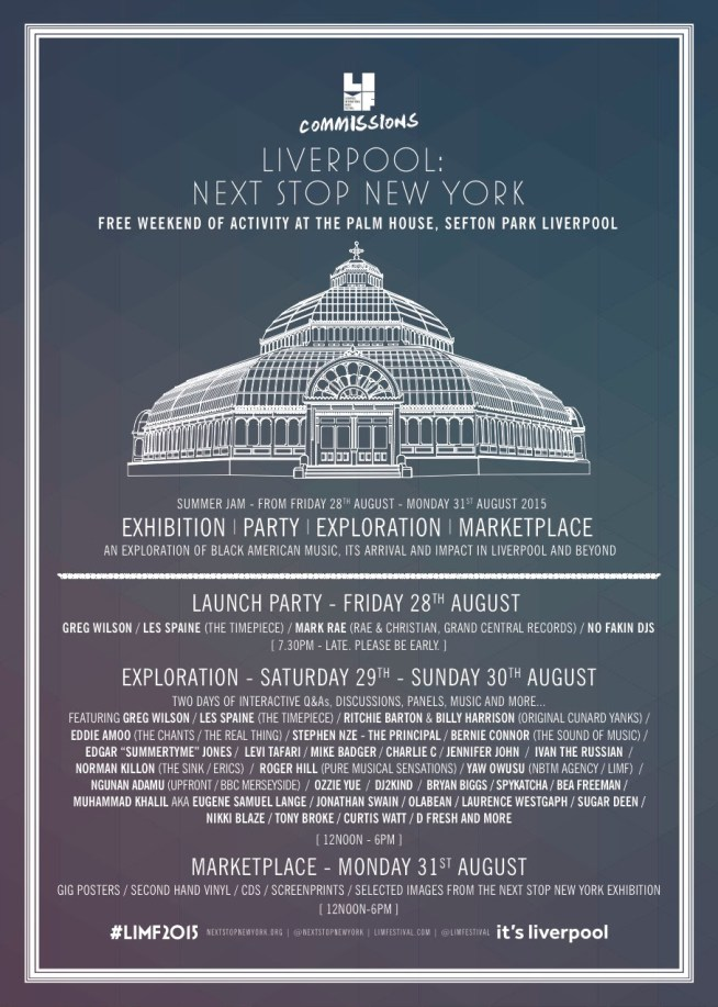 Liverpool: Next Stop New York - FREE party and weekend of exploration at The Palm House