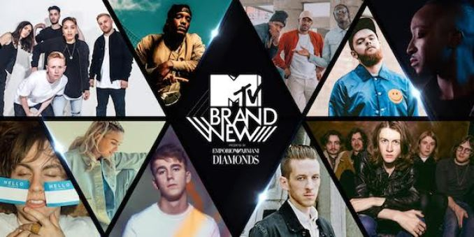 MTV Brand New 2016 shortlist