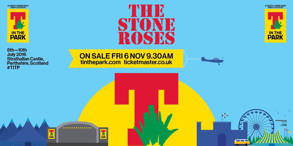 The Stone Roses T in the Park 2016