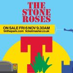 The Stone Roses confirmed as first headliner for T in the Park 2016