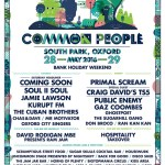 Common People 2016 Line-up Announced