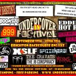 Undercover Festival finds new home at Brighton Racecourse