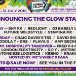Huge Dance Lineup Announced For Kendal Calling 2016