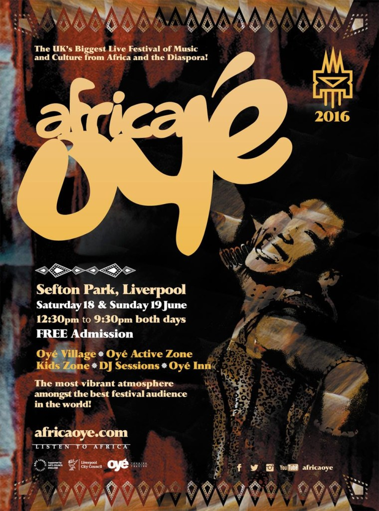 Africa Oye Reveals First Acts For 2016 Festival In Sefton Park