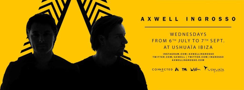 Axwell /\ Ingrosso return to Ushuaïa Ibiza Beach Hotel