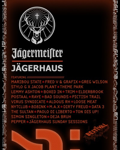 Line-up for Jagerhaus Announced for Bestival 2016